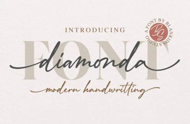 Diamonda Font