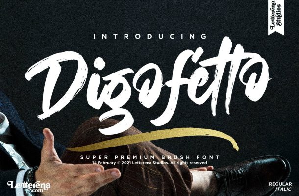 Digofetto Font