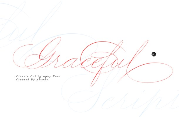 Graceful Font
