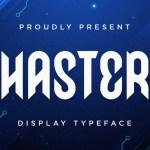 Haster Font