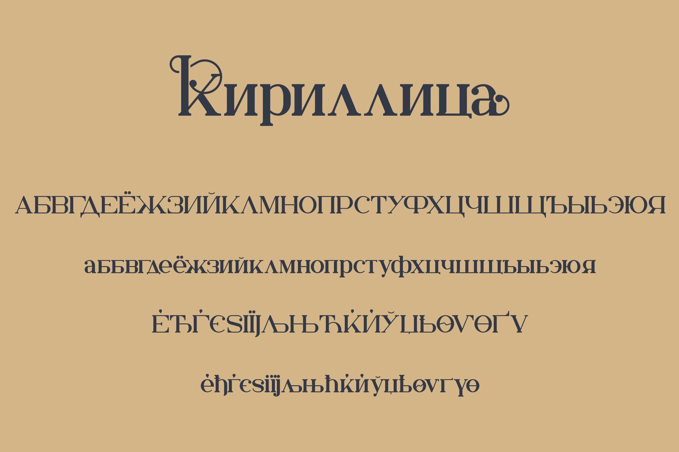Kuchek Handcrafted Serif Font -3