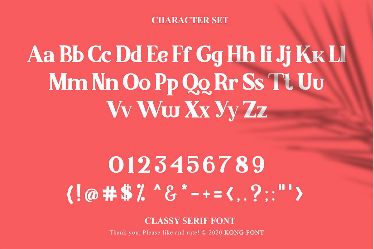 Malcolm Serif Font -3