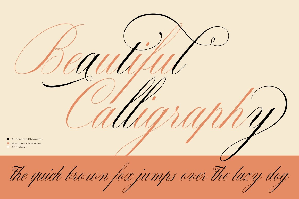 Malikon Classic Calligraphy Font -2