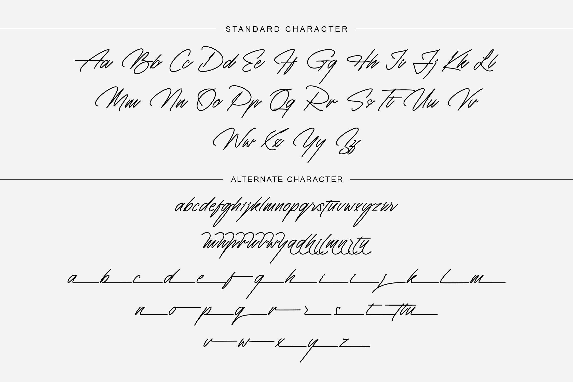 Monosign Beautiful Signature Font -2