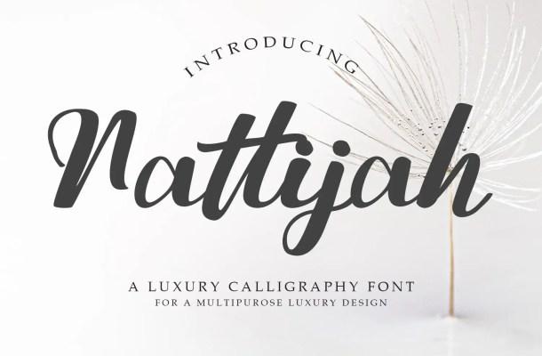 Nattijah Font