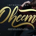Oheem Font