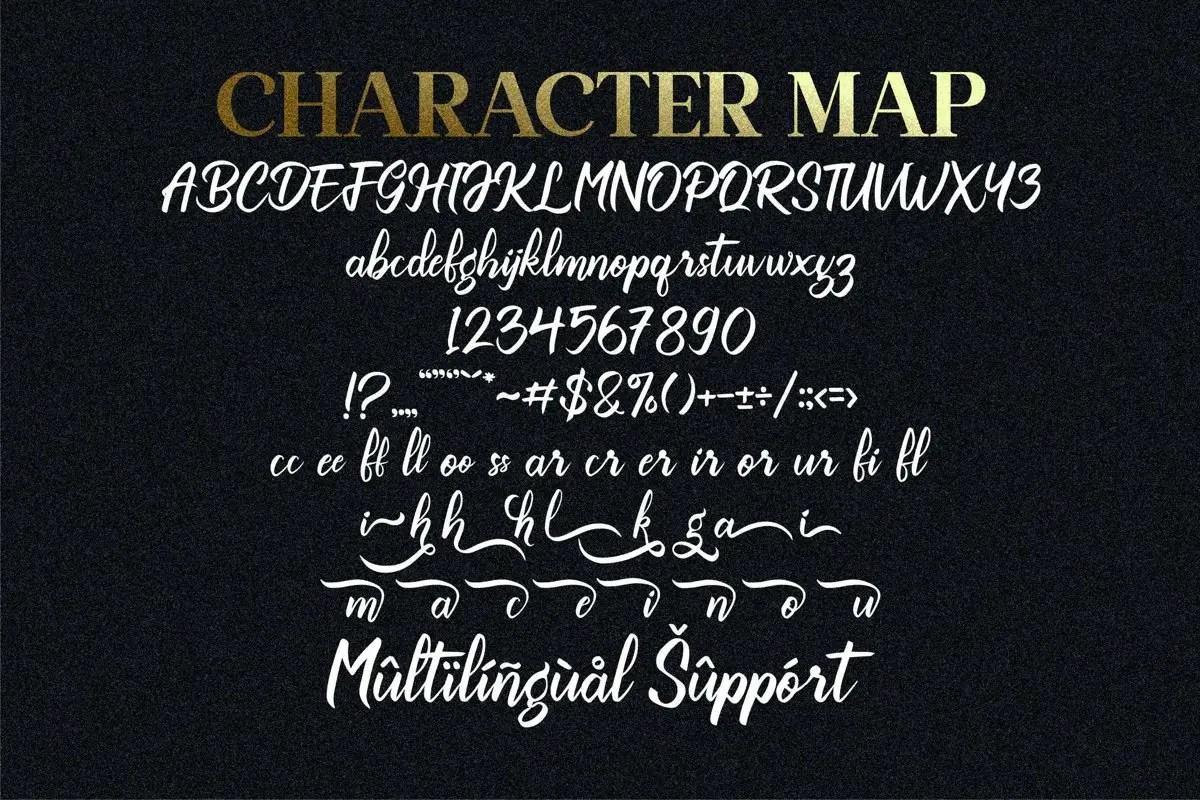 Oheem Premium Script Font -3