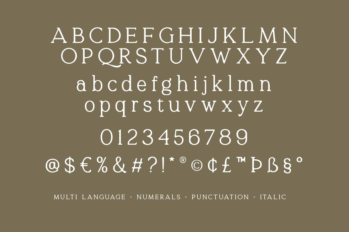 Quelity Crooked Serif Font -3