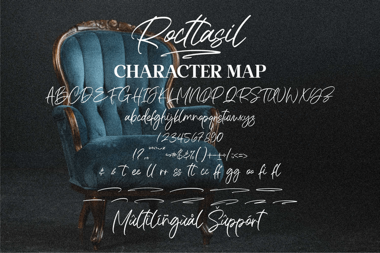 Rocttasil Signature Script Font -3