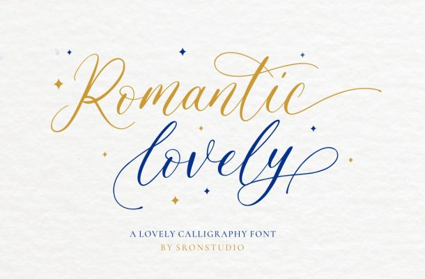 Romantic Lovely Font