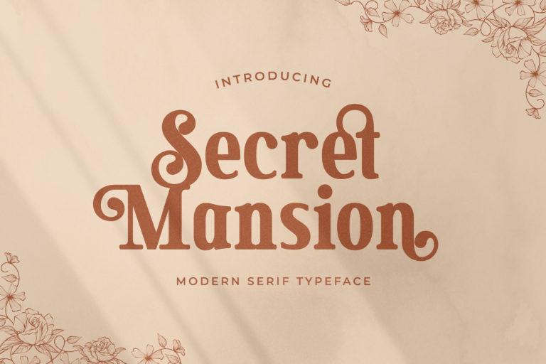 Secret Mansion Modern Serif Font -1