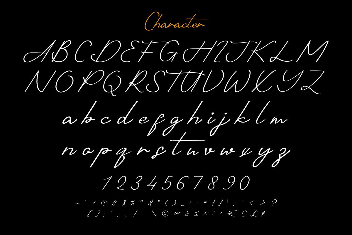 Shotflick Handwriting Signature Font -2