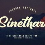 Sinethar Font