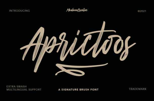 Aprictoos Font