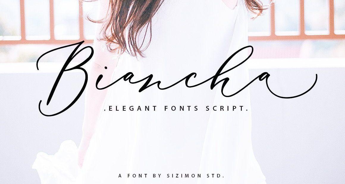 Biancha Elegant Script Font -1