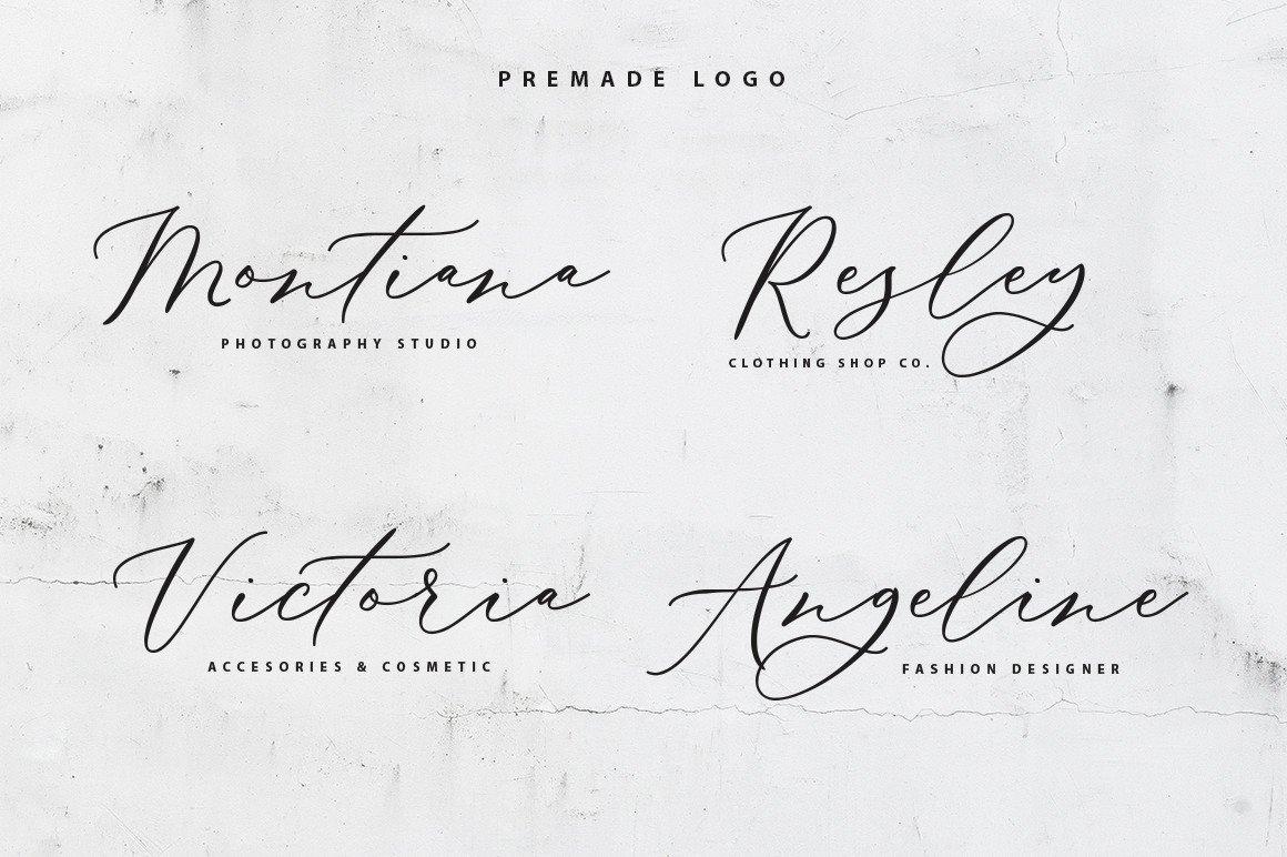 Biancha Elegant Script Font -2