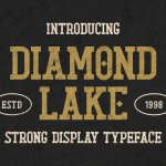 Diamond Lake Font