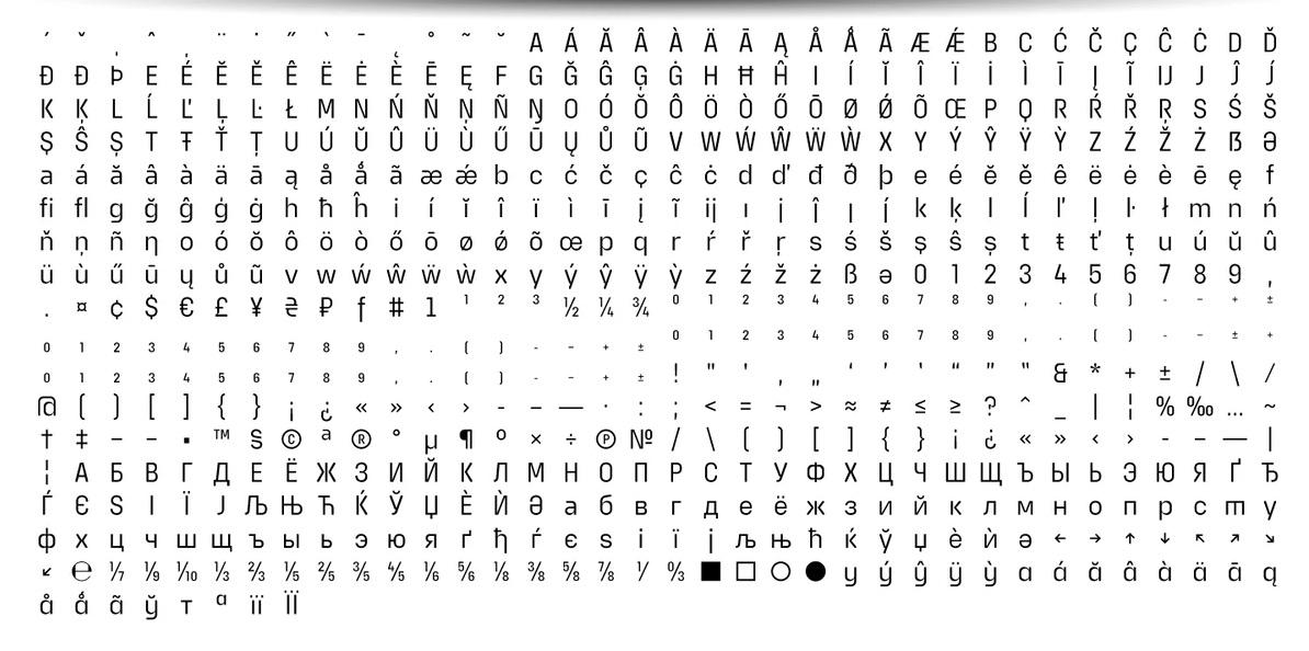 Extatica Sans Serif Font -3