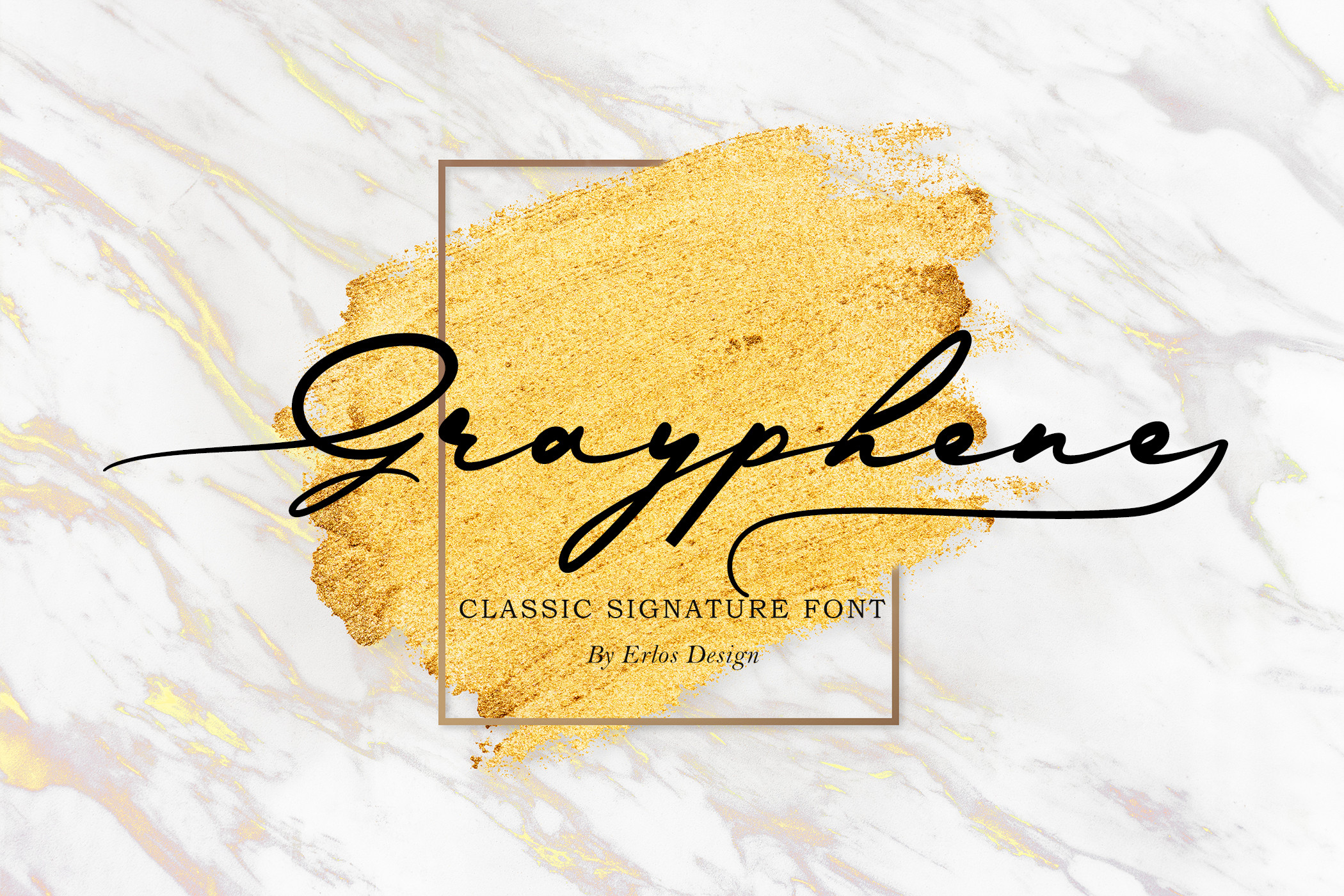 Grayphene Classic Calligraphy Typeface -1