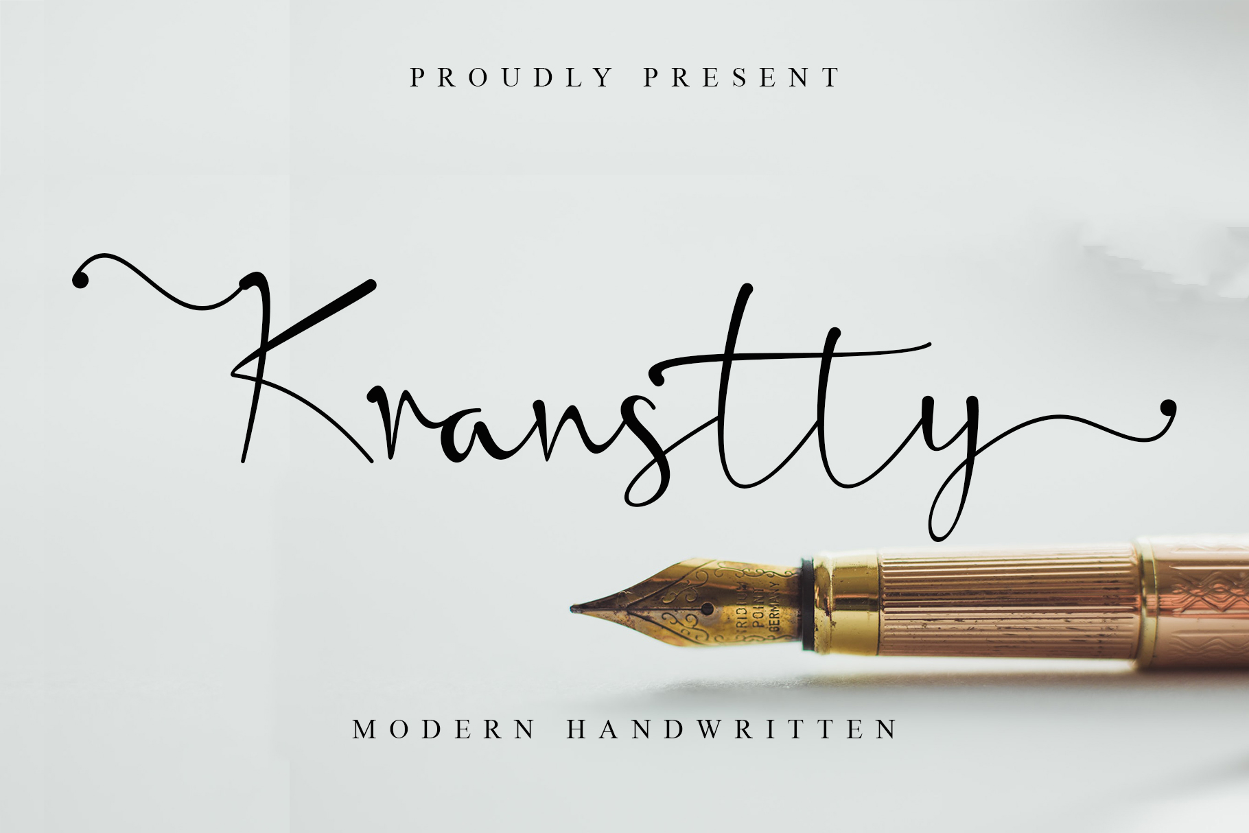 Kranstty Modern Handwritten Font -1