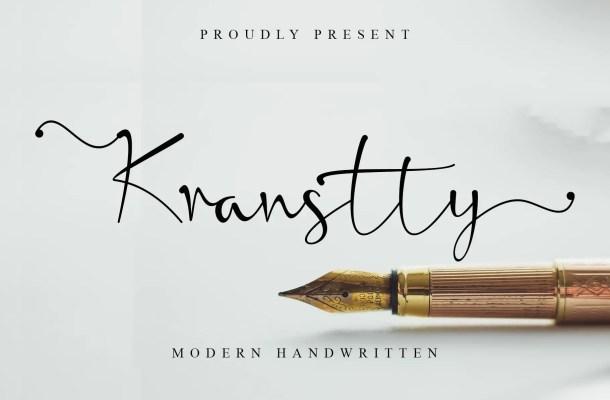 Kranstty Font