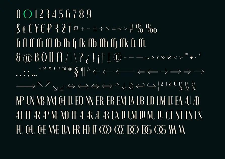 MONIQA Variable Sans Typeface -3