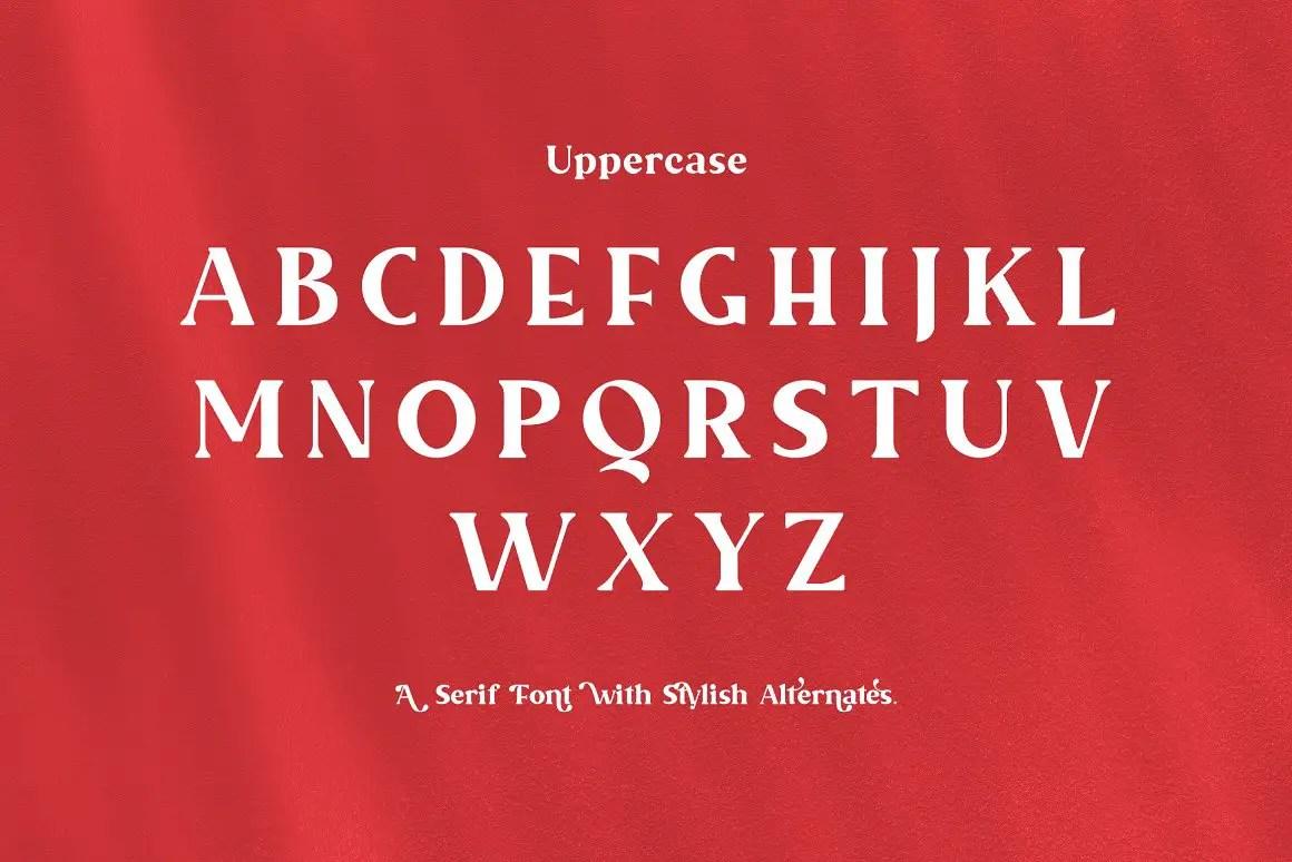 Malevolent Serif Font -3