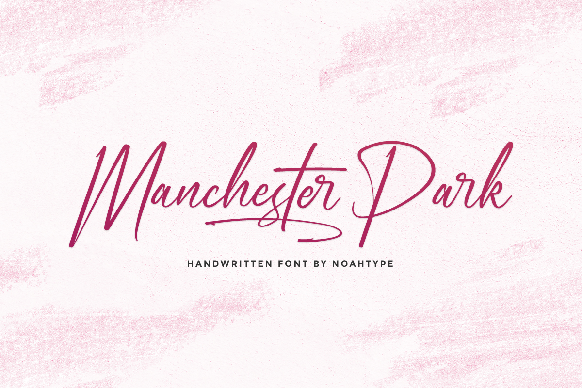 Manchester Park Handwritten Font -1