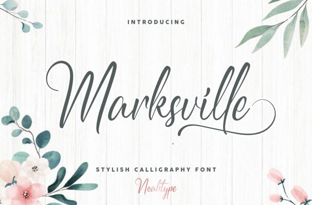 Marksville Font
