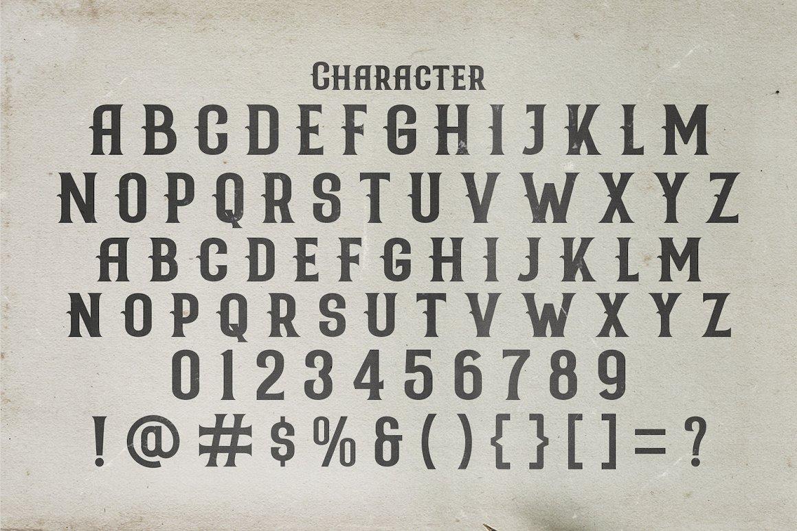 Nicolas Victorian Style Font -3