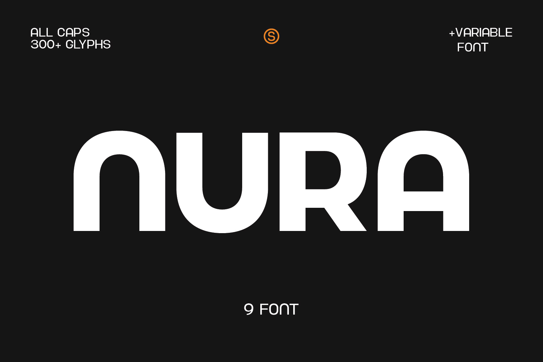 Nura Sans Serif Font -1