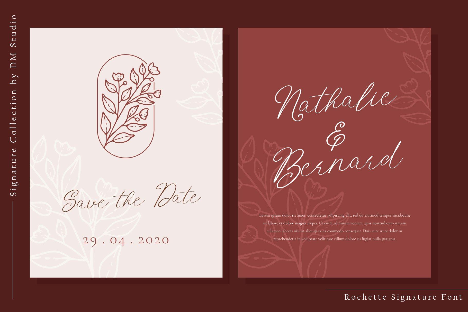 Rochette Elegant Signature Font -2
