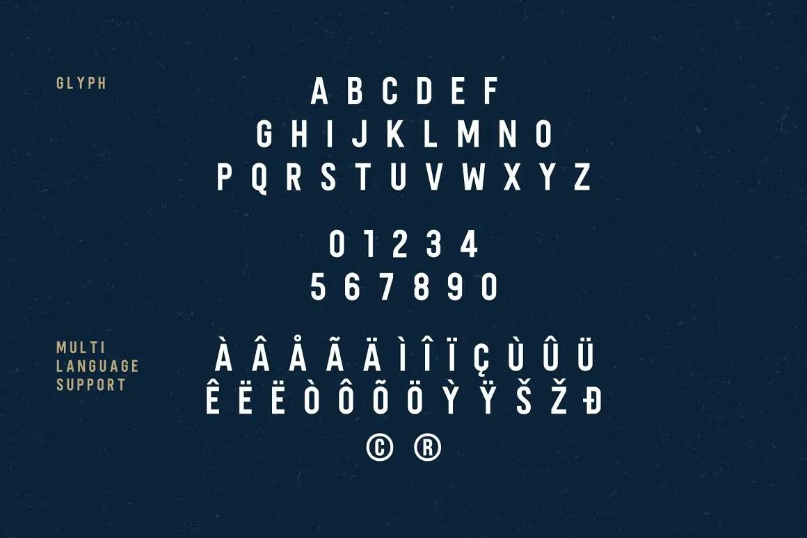 Sandbox Elegant Sans Typeface -3