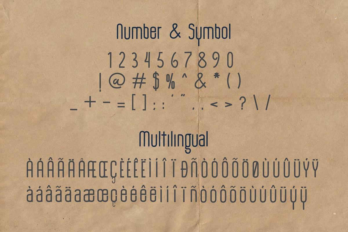 The Monthego Sans Serif Font -3