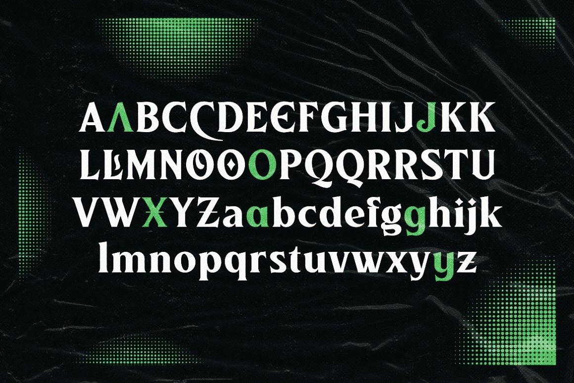 Athlone Serif Display Font -2