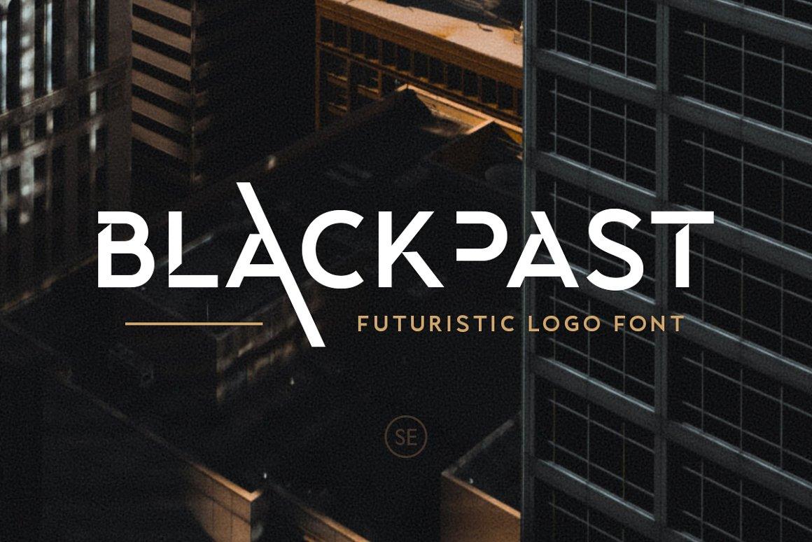 Blackpast Futuristic Logo Font -1