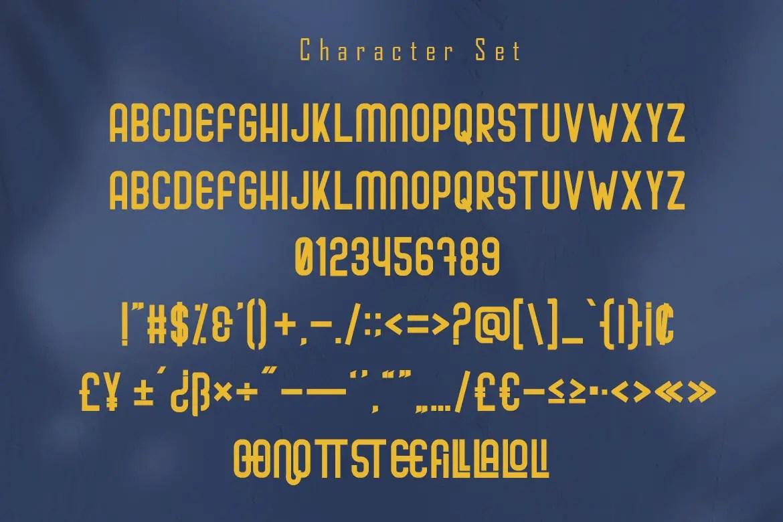 Cafiloser Modern Sans Serif Font -3