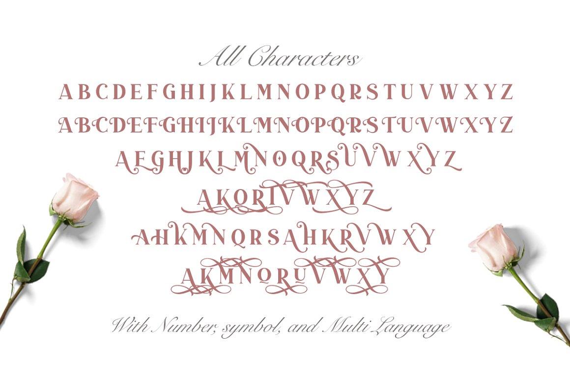 Duarose An Elegant Serif Font -3
