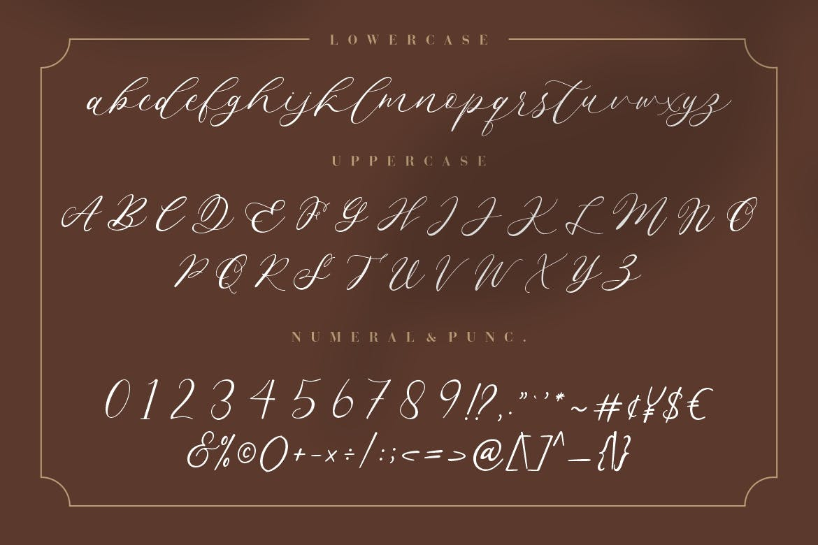 Endless Loveness Calligraphy Font -3