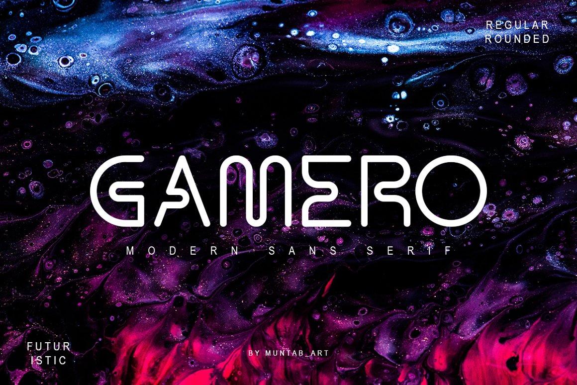 Gamero Modern Sans Serif Font -1