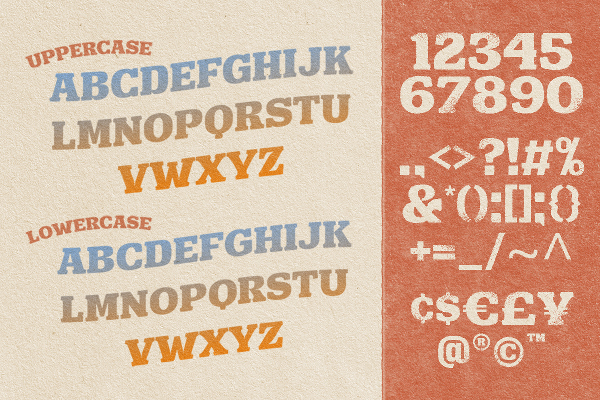 Hulberk Nostalgic Slab Serif Font -3