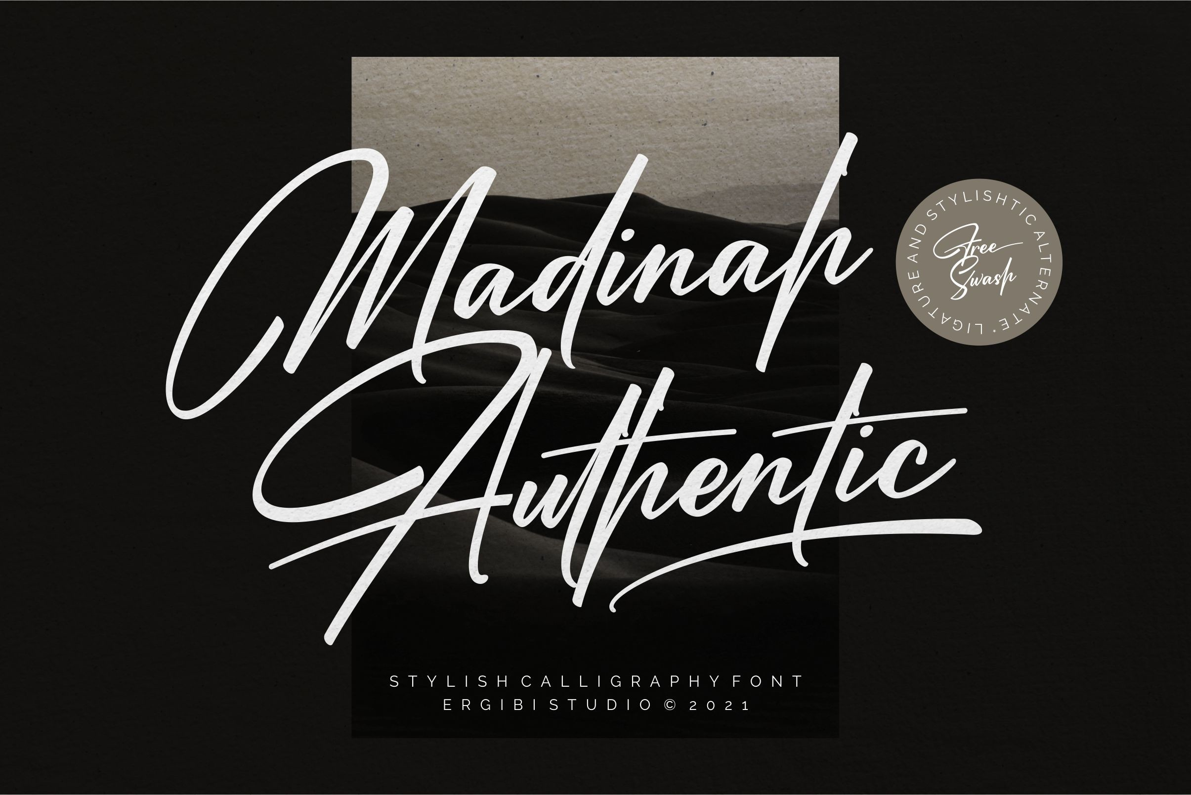 Madinah Authentic Modern Script Font -1