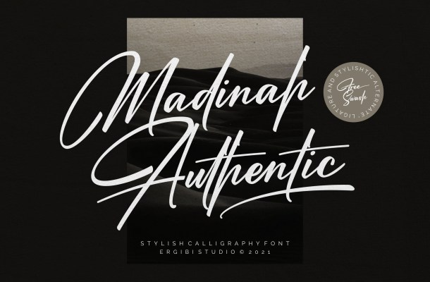Madinah Authentic Font
