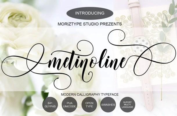 Metinoline Font