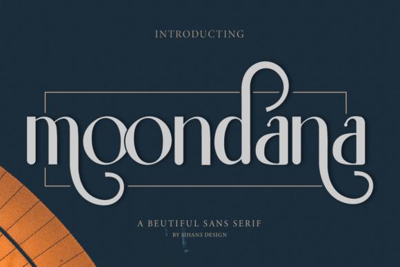 Moondana Beautiful Sans Serif Font -1