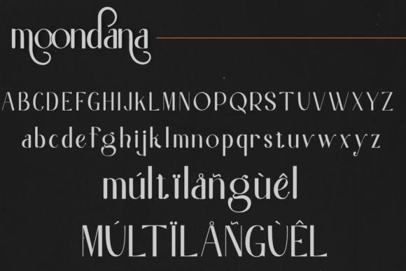 Moondana Beautiful Sans Serif Font -2