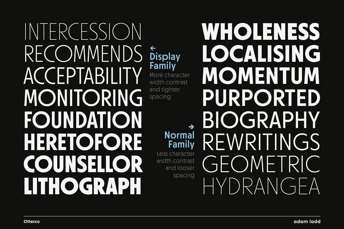Otterco Sans Serif Font Family -2