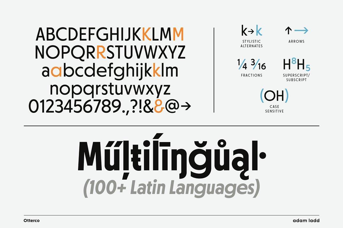 Otterco Sans Serif Font Family -3