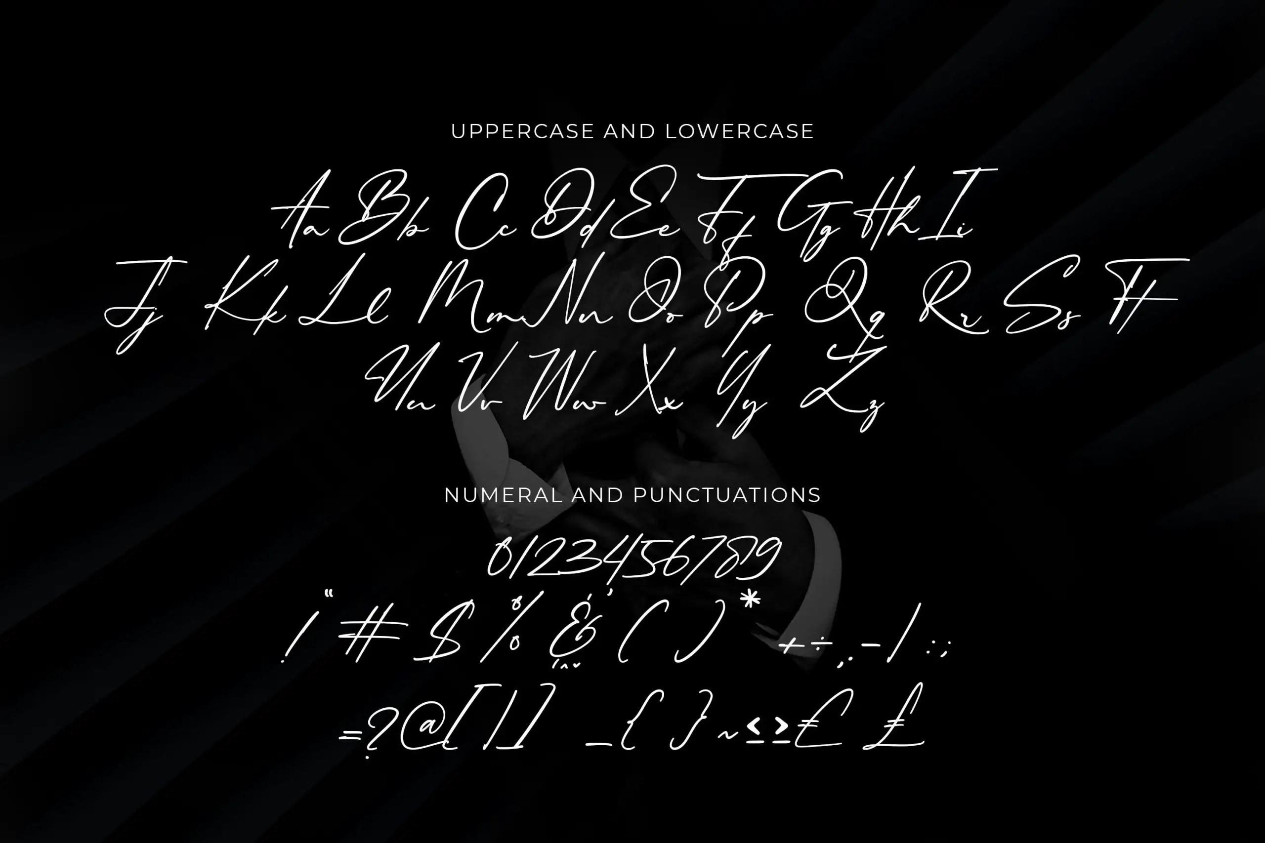 Philips Dutcher Stylish Signature Font -3
