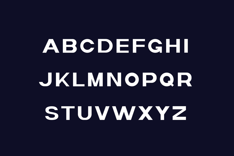 Polaris Sans Serif Font -2